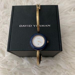 Auth. VTG Gucci 1100L Bracelet Watch Blue Bazel